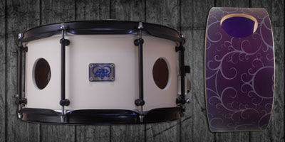 Vented Snare Drum