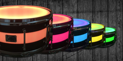 LED Snare Drum