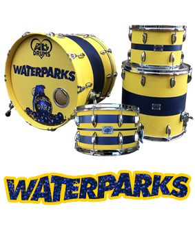 waterparks AD drum kit