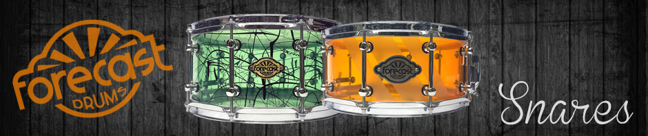 UK Custom Acrylic Snare Drums