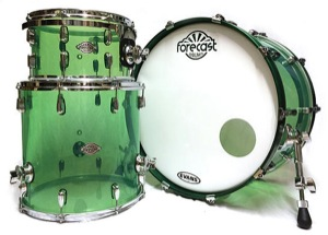 Light Green Acrylic / Chrome Hardware