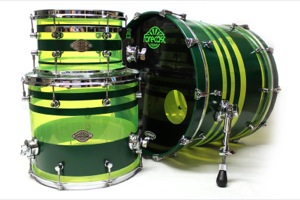 Neon Green Acrylic / Custom Paint /  Chrome Hardware