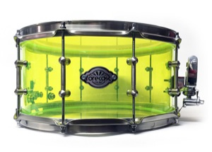 Lime GreenYellow Acrylic / Satin Chrome Hardware