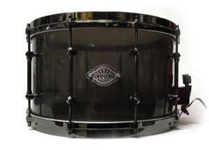Smoke Black Acrylic / Black Nickel Hardware