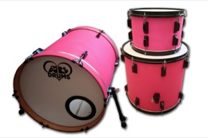 Hot Pink Paint / Black Hardware