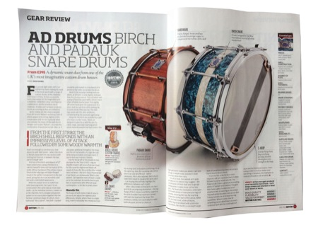 AD Padauk & Birch Snare Review