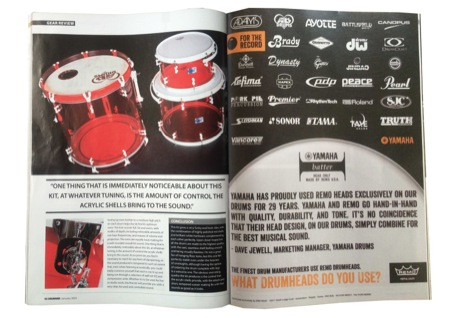 Drummer Acrylic Kit Review