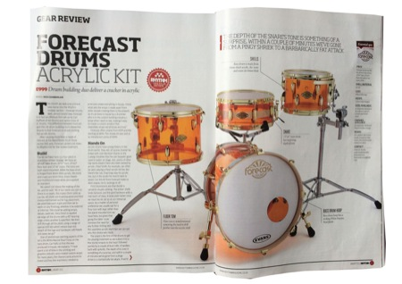 Forecast Drums Acrylic Bop Kit Review