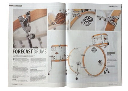 Forecast Drums Wooden Hoop Acrylic  Kit Revie