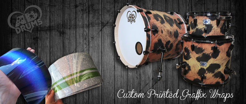 AD Drums Custom Printed Drum Wrap