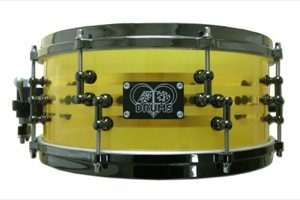 Yellow Acrylic / Black Nickel Hardware