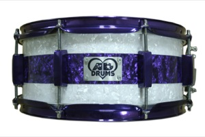White & Purple Pearl / Purple Candy Hardware