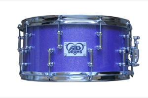 Purple Sparkle Plybrid / Chrome Hardware