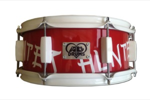 Gloss Red Paint With Custom Logo / White Hardware