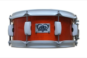 Orange Lacquer / White Hardware