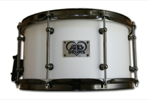 Matt White Paint / Black Nickel Hardware