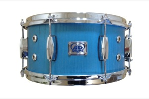 Metallic Blue Paint Over Ash Veneer / Chrome Hardware