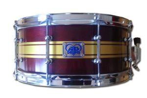Burgundy Lacquer With Gold Pins / Chrome Hardware