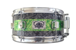 Grey & Lime Green Pearl / Chrome Hardware