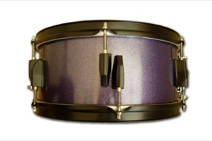 Purple Sparkle Paint / Black Hardware