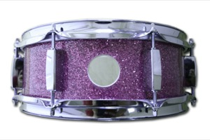 Purple Sparkle With Custom Vent / Chrome Hardware