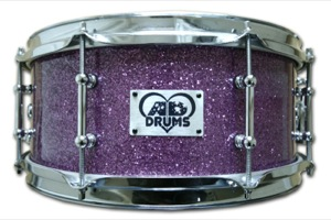 Purple Sparkle / Chrome Hardware