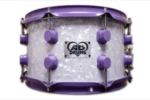 White Pearl / Purple Hardware