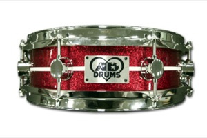 Red Sparkle with White Pinstripe / Chrome Hardware