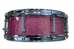 Purple Glass Glitter / Chrome Hardware