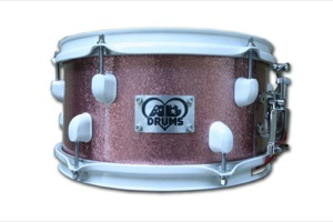 Pink Sparkle / White Hardware