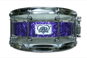 Purple Pearl Reverse Hybrid / Chrome Hardware