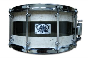 Birdseye Maple Hybrid / Chrome Hardware